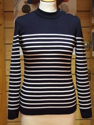 Pull SAINT-JAMES - Pont Navy/Ecume