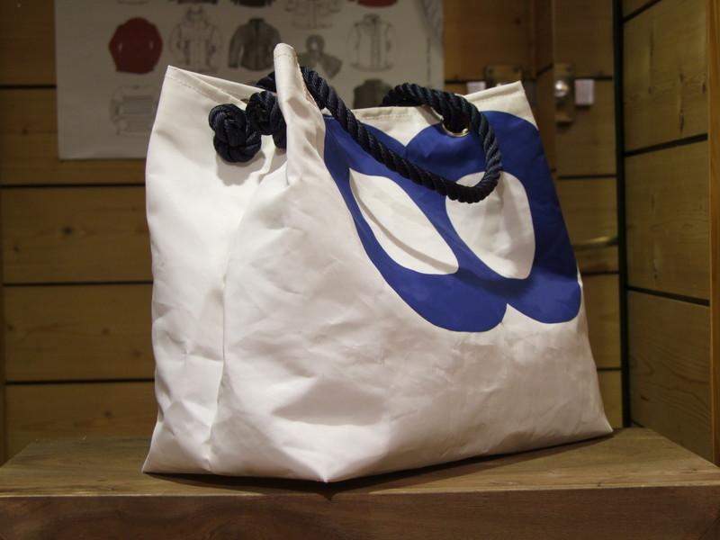 sac toile de voile bag bleu cap horn. Black Bedroom Furniture Sets. Home Design Ideas