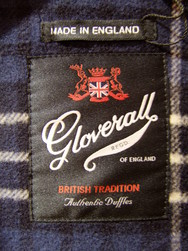 Duffle-coat GLOVERALL - 312FC Navy