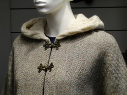 Cape IRELAND - Tweed/Wool Natural